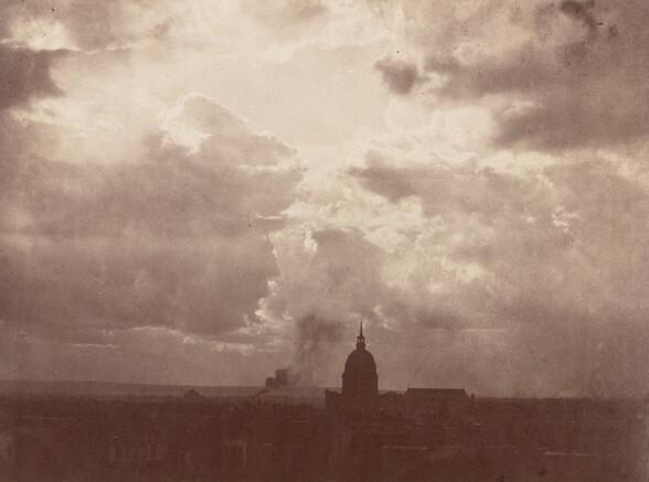 Cloud Study over the Pantheon, Paris