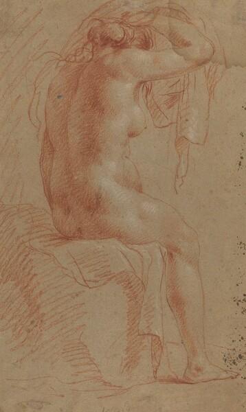 Nude Female Figure [verso]