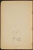 begonnene Skizze eines Mannes mit Bart (Unfinished Sketch of a Man with Beard) [p. 6]