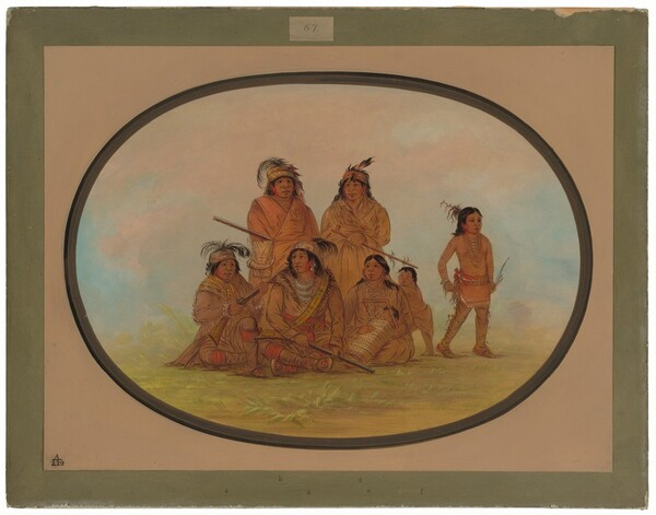 Seminolee Indians, Prisoners at Fort Moultrie