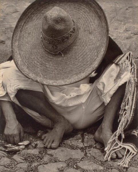 Man with Sombrero, Mexico