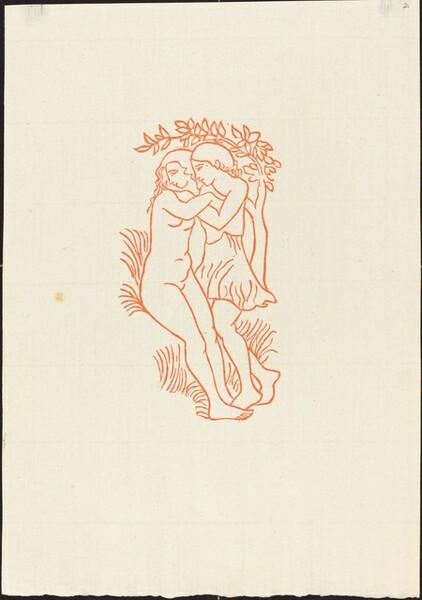 Frontispiece: Daphnis and Chloe (Daphnis et Chloe enlaces)
