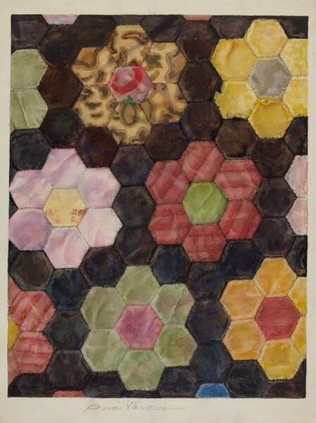 Velvet Pieced Quilt
