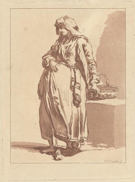 Italian Peasant Woman