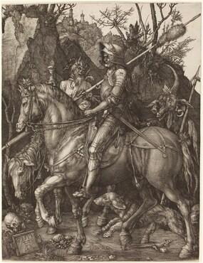 Albrecht Dürer, Knight, Death and Devil, 15131513