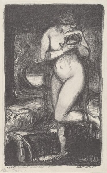 Nude with Shell