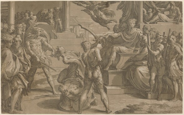 The Martyrdom of Saints Peter and Paul [recto]