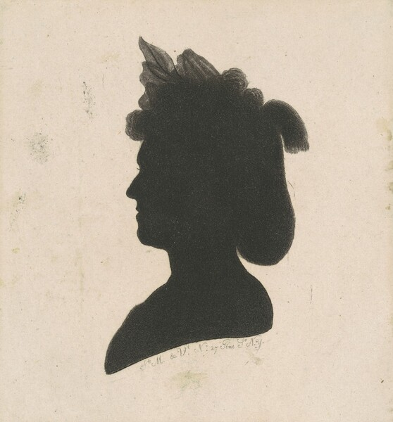 Unidentified Female Silhouette