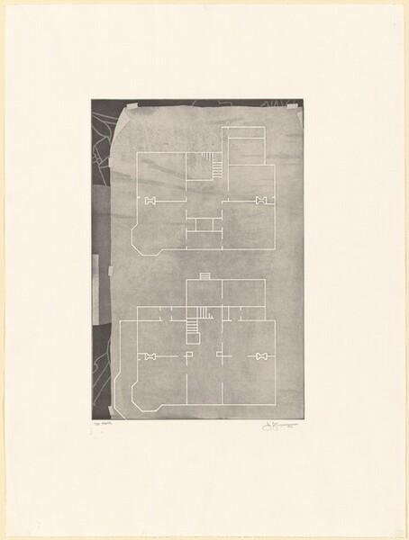 Untitled (Geldzahler) [1st state]