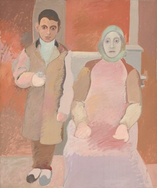 Arshile Gorky, The Artist and His Mother, c. 1926-c. 1942
