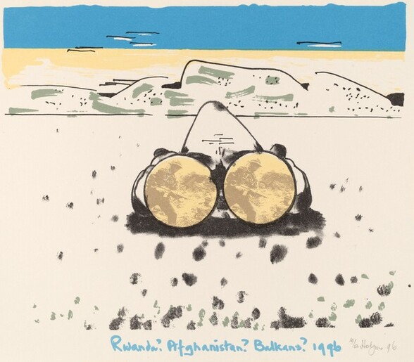 Rwanda? -  Afghanistan? - Balkans? 1996, from Ubu centenaire: Histoire d