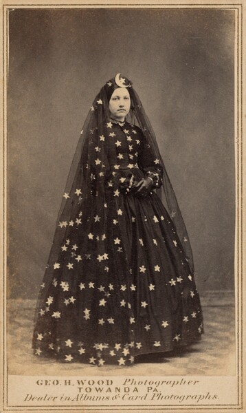 Woman in Costume of Queen of the Night