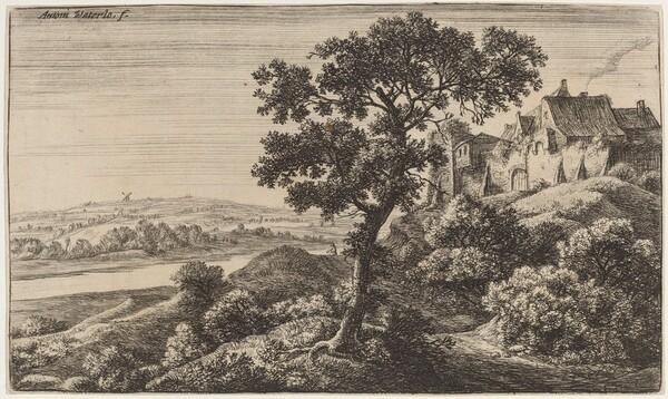 A Village on a Hill