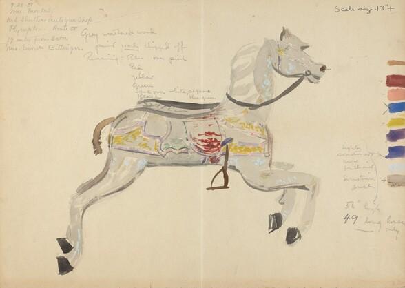 Carousel Horse (Study)