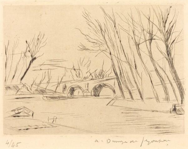 The Pont Marie (Le Pont Marie)