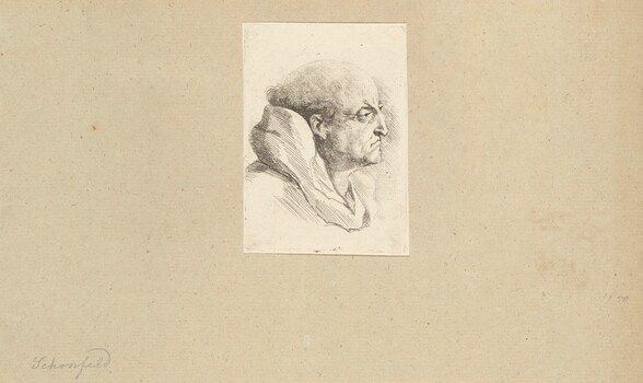 Bust of a Monk