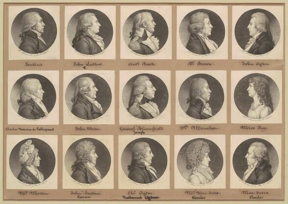Saint-Mémin Collection of Portraits, Group 7