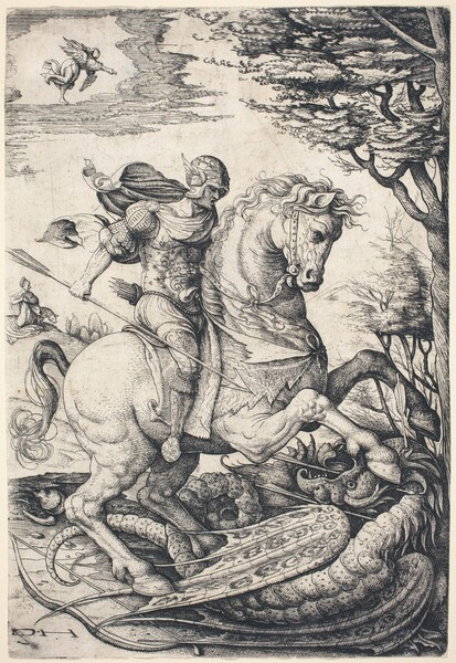 Saint George on Horseback Slaying the Dragon