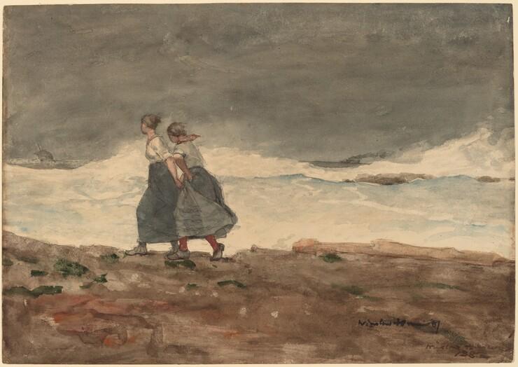 Winslow Homer, Danger, 1883/1887
