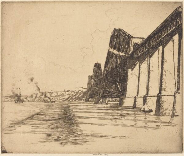 The Forth Bridge, No. 1