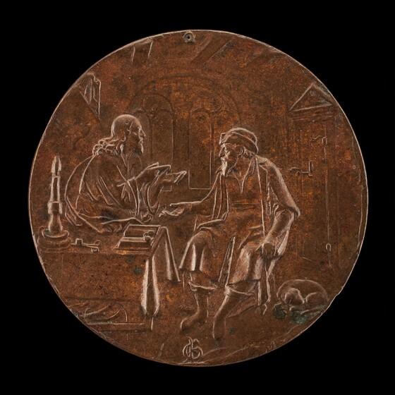 Master P.G., Christ and Nicodemus, c. 1550