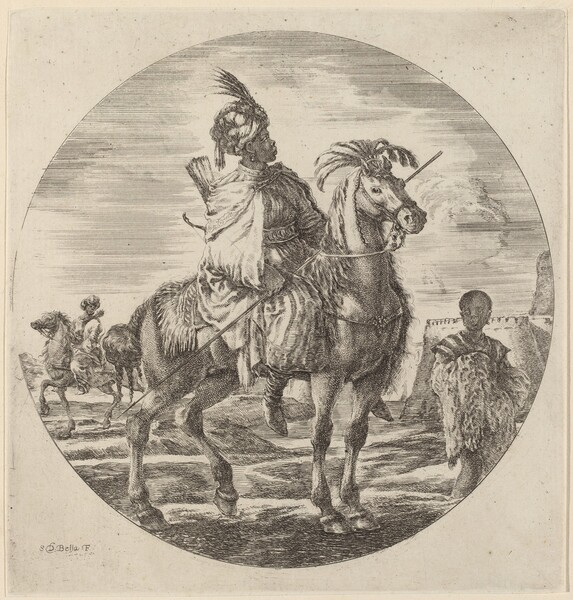 A Black Horseman