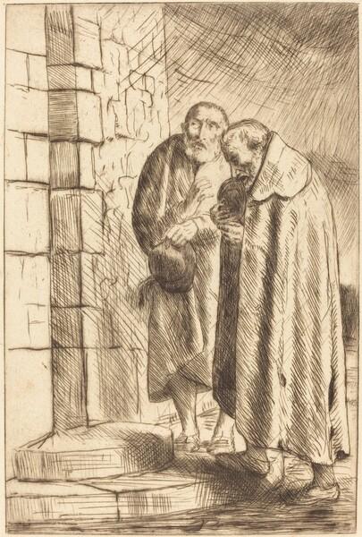Saint Peter and Saint Paul in the Door of M. Richard (St. Pierre et St. Paul a la porte de M. Richard