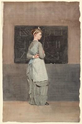 Winslow Homer, Blackboard, 1877