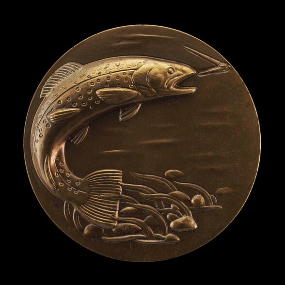 The Brown Trout [obverse]