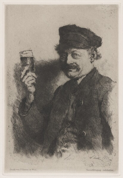 The Drinker (Portrait of Wirts Rauecker)