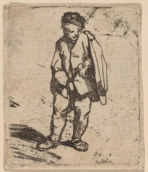 Man in a Short Cloak