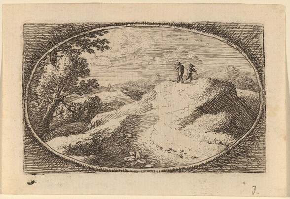 Two Men on a Bare Hill