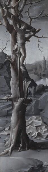 Saint Jerome Penitent [left panel]