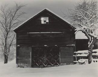 image: The Black Barn & White Snow
