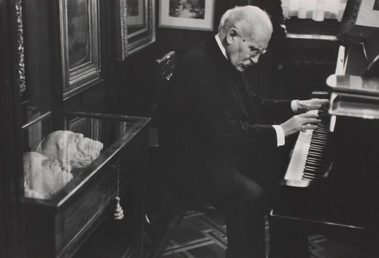 David Seymour (Chim), Arturo Toscanini in His Home, Milan, 1954, printed 1982