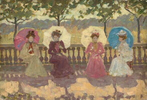 In the Park, Paris