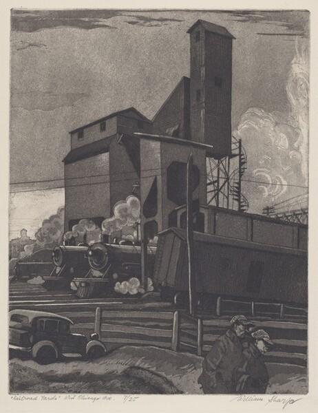 Railroad Yards West Chicago Avenue