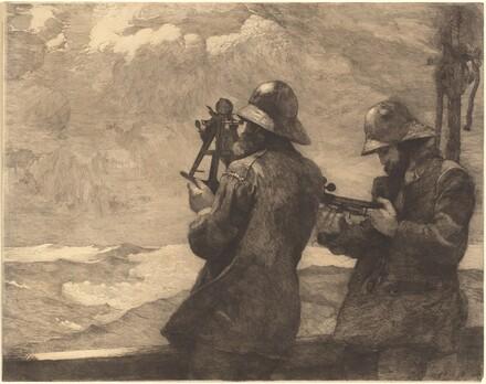 Winslow Homer, Eight Bells, 1887