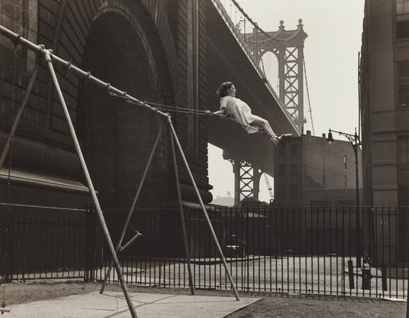 Girl on a Swing, Pitt Street, New York