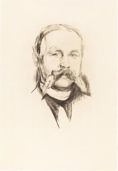Portrait of Dr. Hermann Seidel