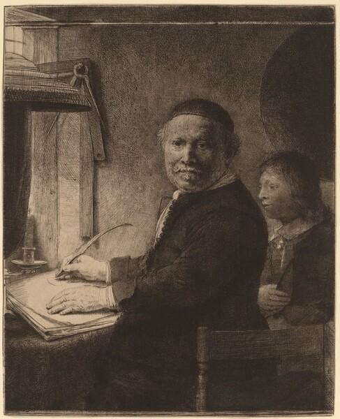Lieven Willemsz van Coppenol: the Smaller Plate