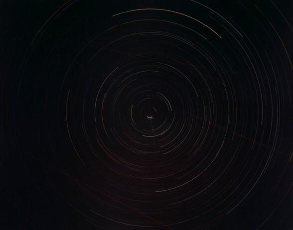Polaris Over Lake Mead, Nevada, March 14-15, 1997 11:56PM-4:15AM