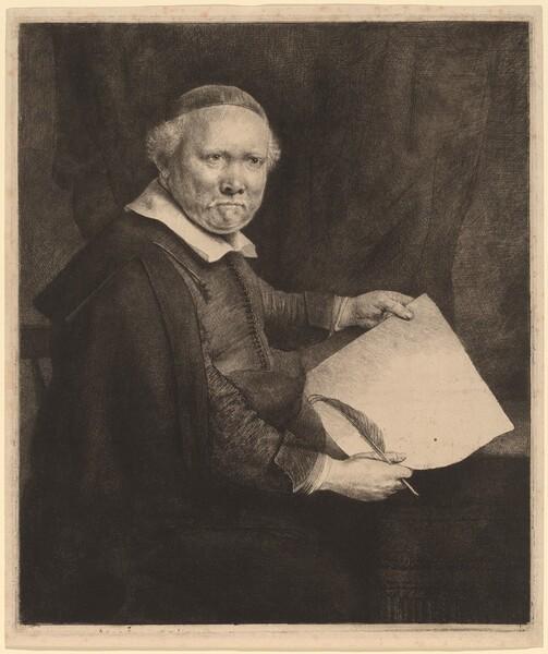 Lieven Willemsz van Coppenol: the Larger Plate