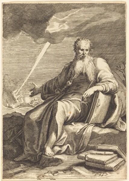 Saint Paul, Seated