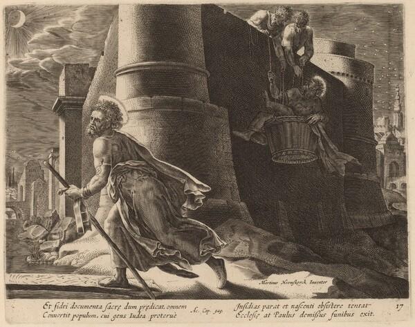 Saint Paul Escapes from Damascus
