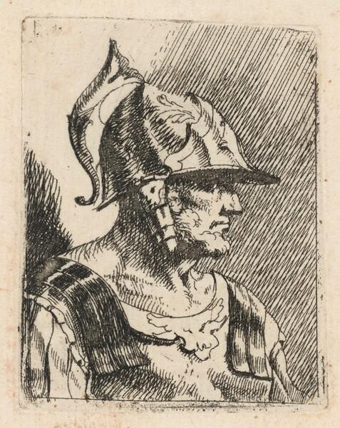 Bust of a Bearded Warrior