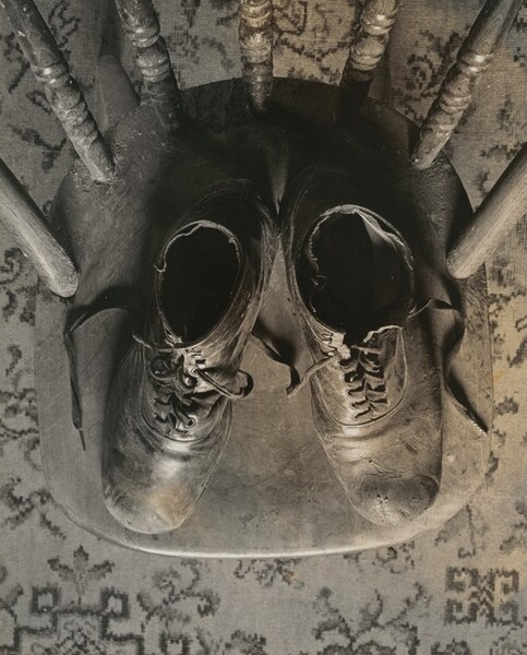 Shoes on Chair
