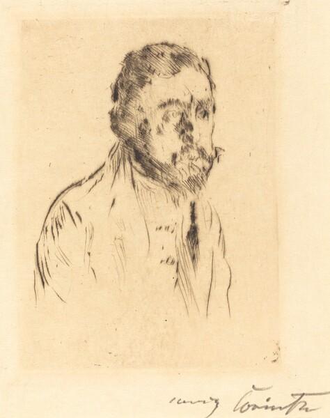Bildnisstudie H. St. (Portrait Study of H. St.)