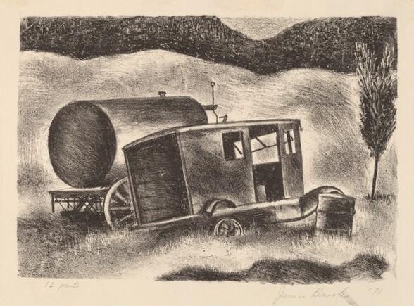 Untitled (Abandoned Truck)