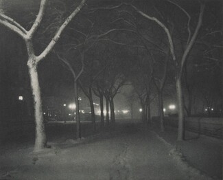 image: Icy Night (featured in ad for Goerz lenses)